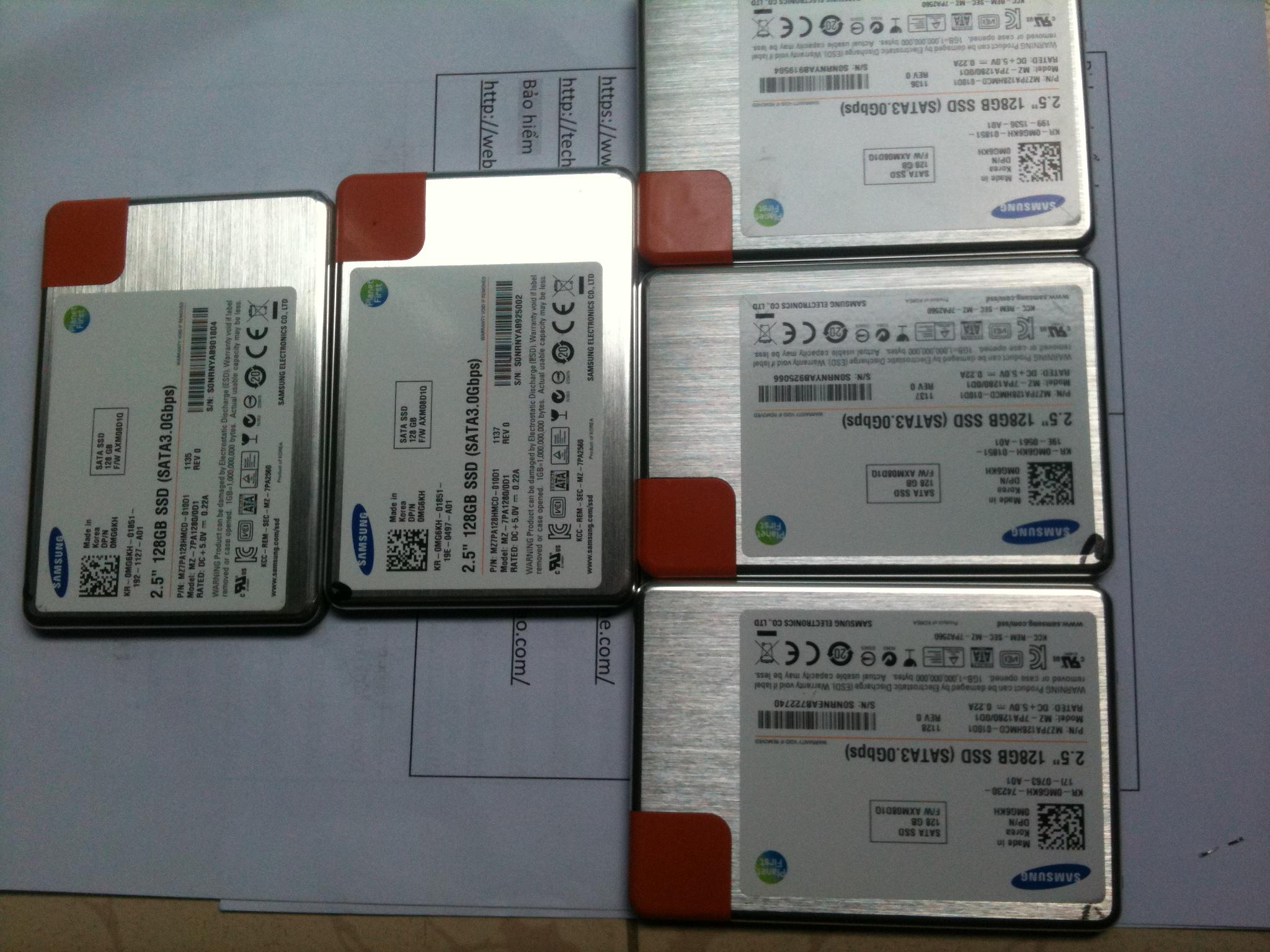 [GoVap] Chuyên trao đổi ổ SSD 128G-256G cũ lấy Ram Laptop cũ, HDD Laptop cũ