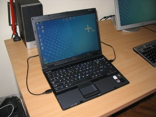 Laptop HP Compaq 6910P T9500