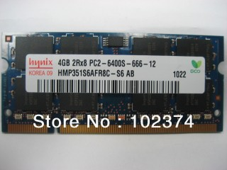 Ram 4GB DDR2 Laptop bus 800