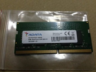 Ram Laptop Cũ DDR4 Adata 8GB Bus 2133