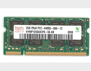 Ram Laptop DDR2 2GB bus 800