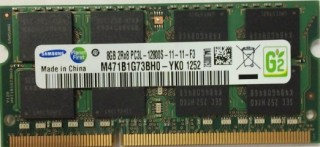 Ram Laptop Samsung 8GB PC3L DDR3L 12800s